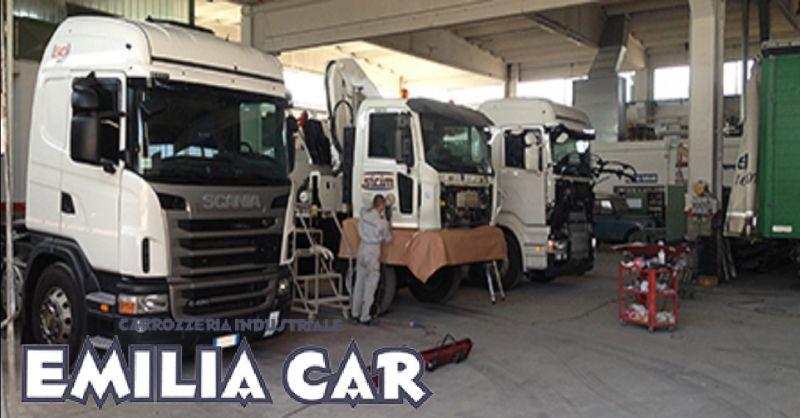 offerta riparazione veicoli industriali a Piacenza - occasione allestimenti veicoli commerciali