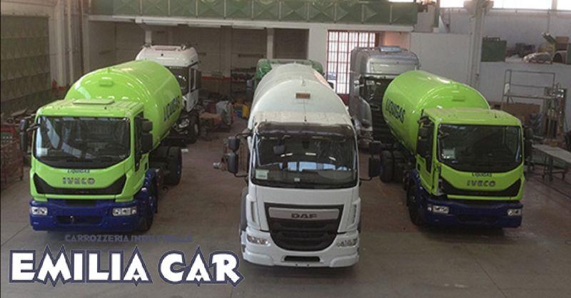 offerta sabbiatura veicoli industriali a Piacenza - occasione carrozzeria industriale Piacenza