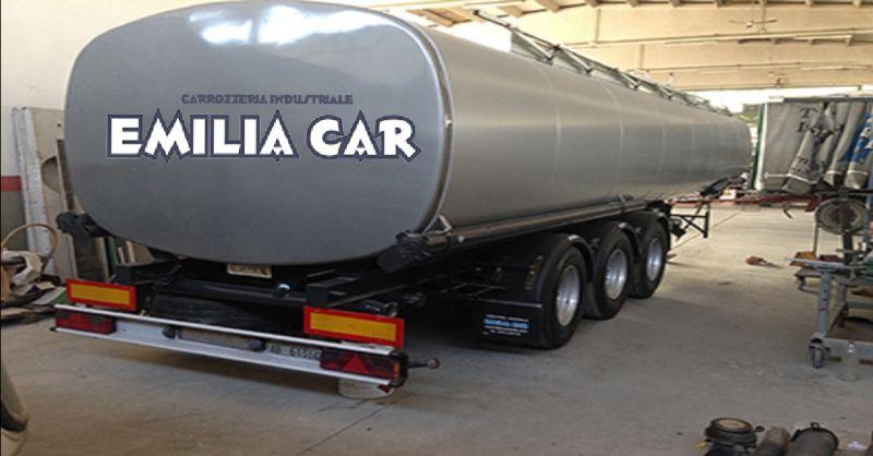 offerta carrozzeria per rimorchi e semirimorchi Piacenza - occasione verniciatura cisterne gas