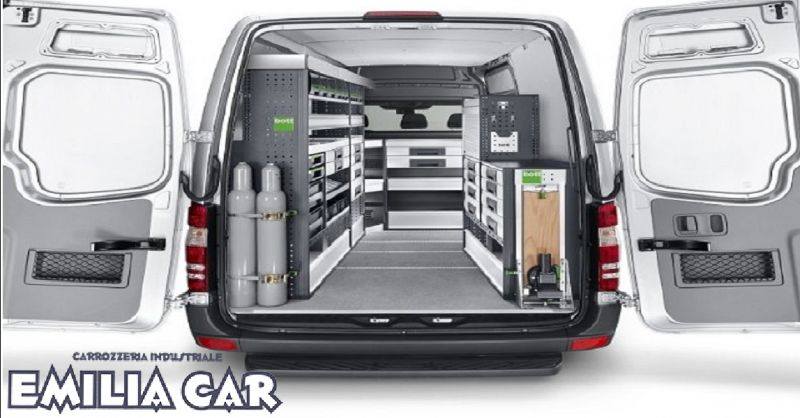 offerta allestimenti per furgoni a Piacenza - occasione allestimento officina mobile a Piacenza