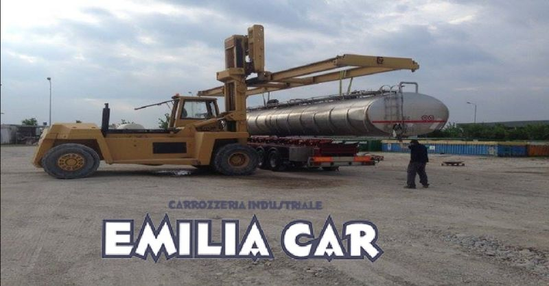 offerta verniciatura mezzi pesanti Piacenza  - occasione sabbiatura cisterne e silos a Piacenza