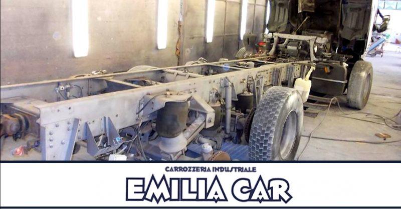 Offerta carrozzeria per rimorchi Piacenza - occasione ripristino veicoli industriali Piacenza
