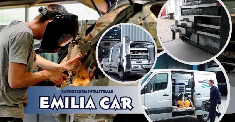 Offerta allestimenti veicoli commerciali Parma - Occasione servizio allestimento furgoni Lodi