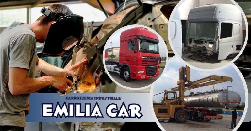 Occasione carrozzeria specializzata camion DAF Mantova - Offerta carrozzeria per camion Pavia