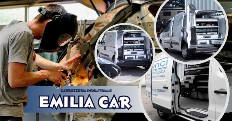 Offerta allestimento officina mobile Brescia - Occasione allestimenti su misura per furgoni Bergamo