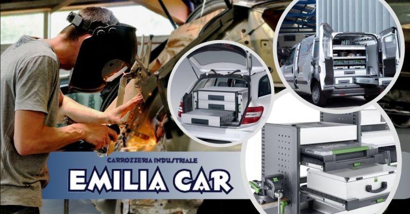 Offerta servizio allestimento officine mobili Bergamo - Occasione allestimento furgoni su misura Brescia