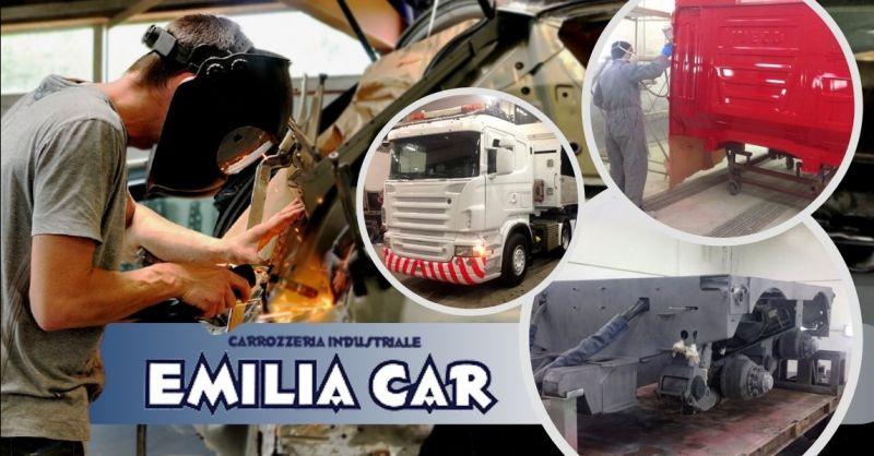 Offerta servizio verniciatura rimorchi Parma - Occasione servizio sabbiatura veicoli industriali Milano