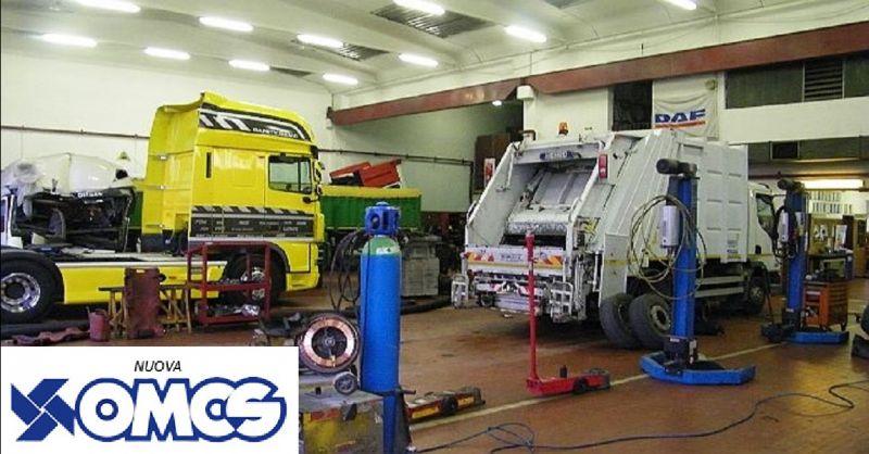 offerta servizio di riparazione mezzi speciali a Piacenza - occasione officina per truck e bus