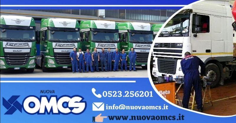 Offerta officina riparazione rimorchi provincia Piacenza - Occasione revisione veicoli industriali Piacenza