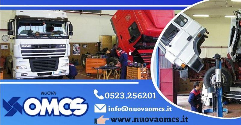 Offerta officina meccanica per camion Piacenza provincia - Occasione riparazione veicoli commerciali Piacenza