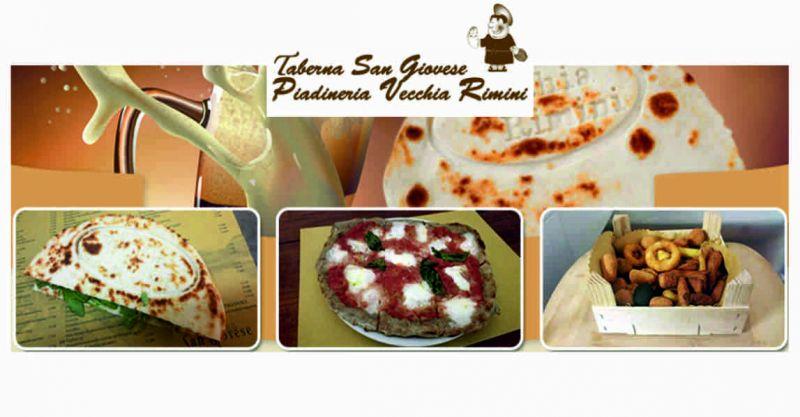 Piadineria Vecchia Rimini offerta piadina romagnola - occasione pizza al piatto