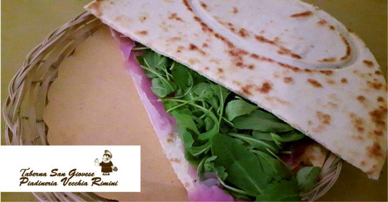 piadineria vecchia rimini offerta piadina romagnola - occasione pizza