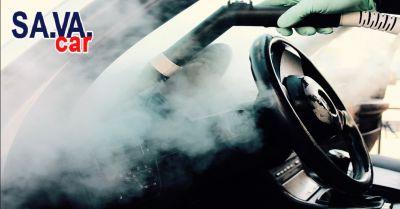 offerta servizio sanificazione interni auto a verona occasione trattamento allozono per auto