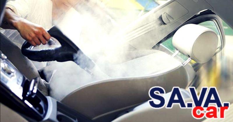 offerta sanificazione professionale auto Verona - occasione lavaggio sedili interni auto Verona