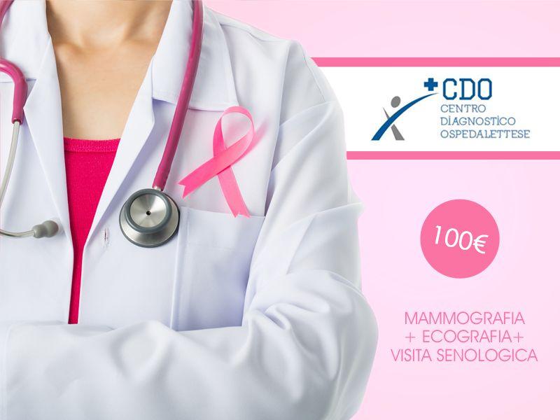 offerta mammografia ecografia visita senologica - check up senologico ospedaletti