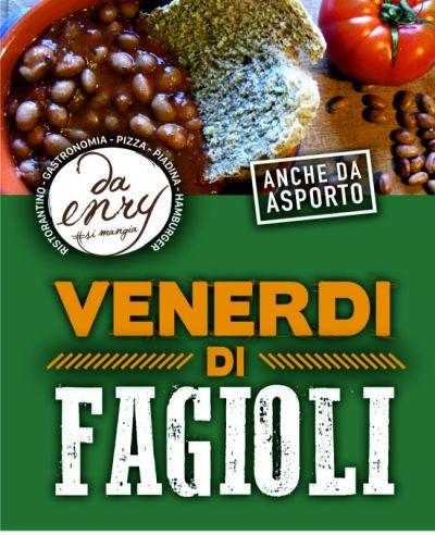 menu di fagioli il venerdi da enry calcinelli