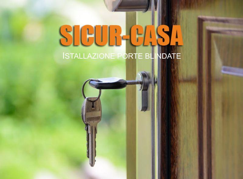 offerta istallazione porte blindate-promozione montaggio portoni blindate  sicur casa brescia