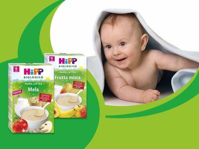 offerta hipp pappa lattea per bambini promozione pappe lattee hipp parafarmacia carbone