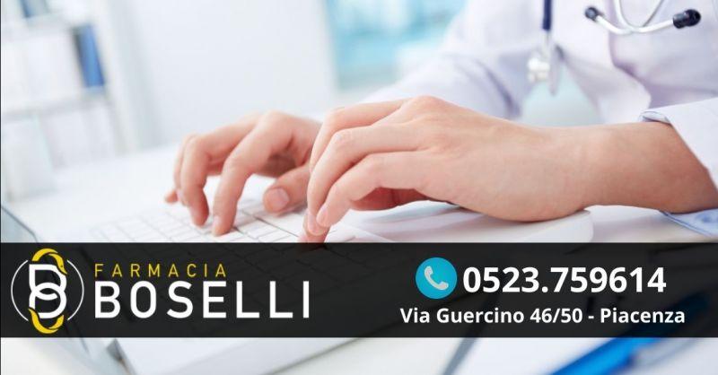 Offerta prenotazione visite specialistiche ASL CUP - Occasione pagamento ticket cup farmacia Piacenza