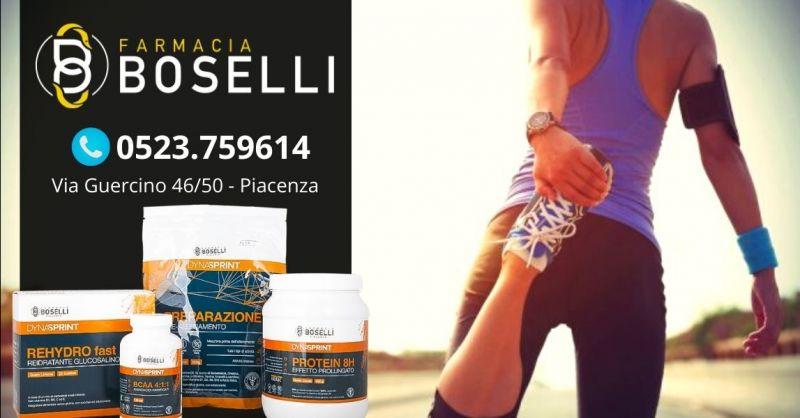 Offerta vendita migliori integratori per sportivi Piacenza - Occasione linea integratori sport Dynasprint
