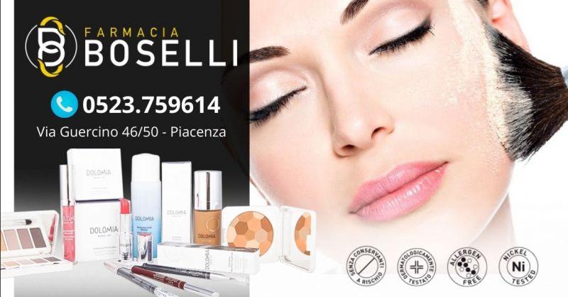 Offerta make up per pelli sensibili intolleranti Piacenza - Occasione vendita cosmetici Dolomia Piacenza