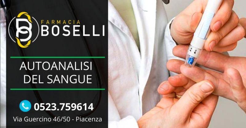 Offerta autoanalisi del sangue farmacia Piacenza - Occasione servizio autoanalisi sangue costo Piacenza