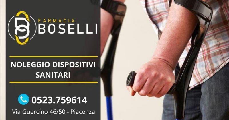 Offerta farmacia noleggio dispositivi sanitari Piacenza - Occasione servizio noleggio stampelle Piacenza
