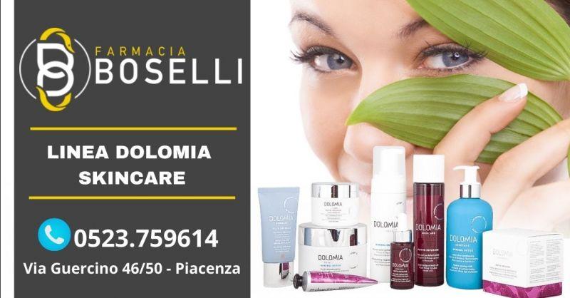 Offerta vendita prodotti skincare Dolomia Piacenza - Occasione migliori prodotti per il viso Piacenza