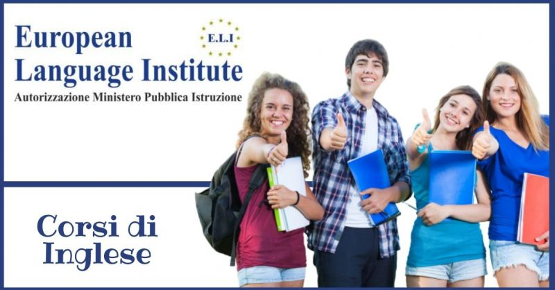 EUROPEAN LANGUAGE INSTITUTE - offerta corsi di recupero scolastico in lingue
