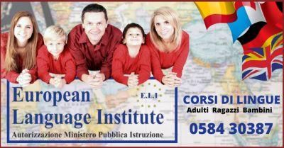 occasione corsi di lingua con insegnanti madrelingua a viareggio e lucca
