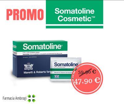 promo offerta somatoline cellulite ritenzione idrica pelle estate