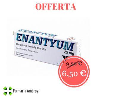 offerta sconto enantium emicrania ciclo mal di testa protezione stomaco