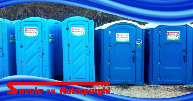 Promozione servizio di noleggio bagni chimici - offerta wc chimici con servizio pulizia Verona