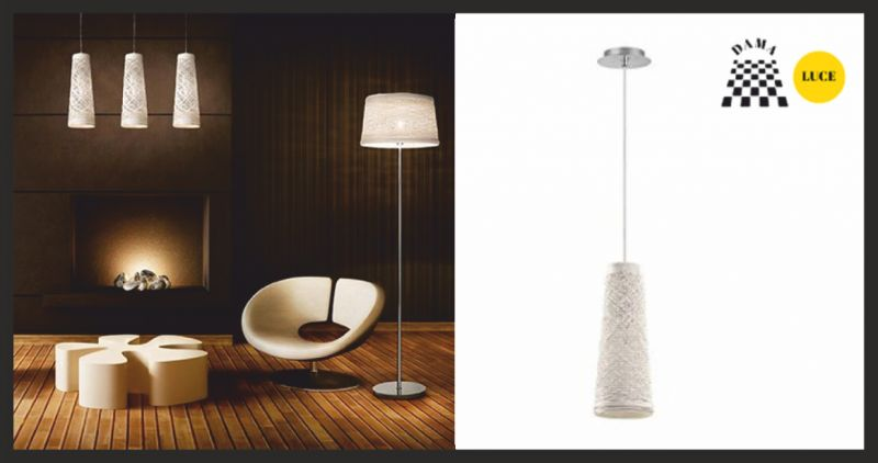 dama luce offerta lampada a sospensione - occasione negozio di lampadari pesaro urbino
