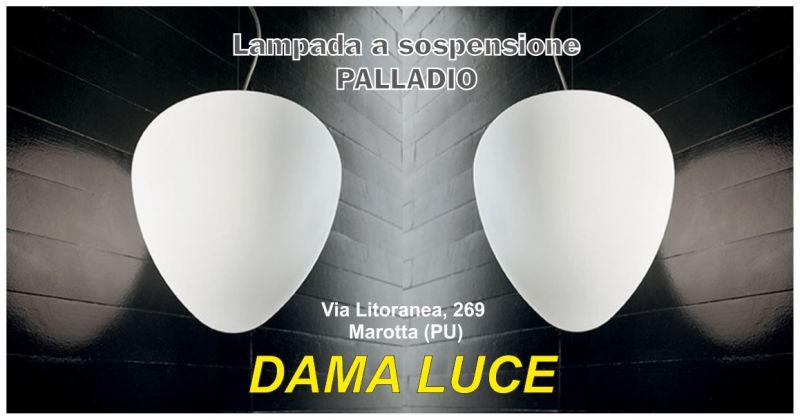 dama luce offerta lampada a sospensione palladio - occasione lampadario in vetro pesaro urbino
