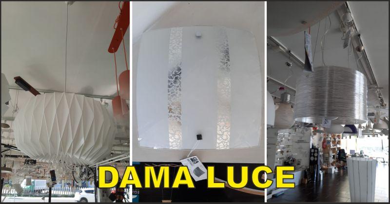 dama luce offerta vendita lampadari a sospensione marotta - occasione vendita applique da parete fano