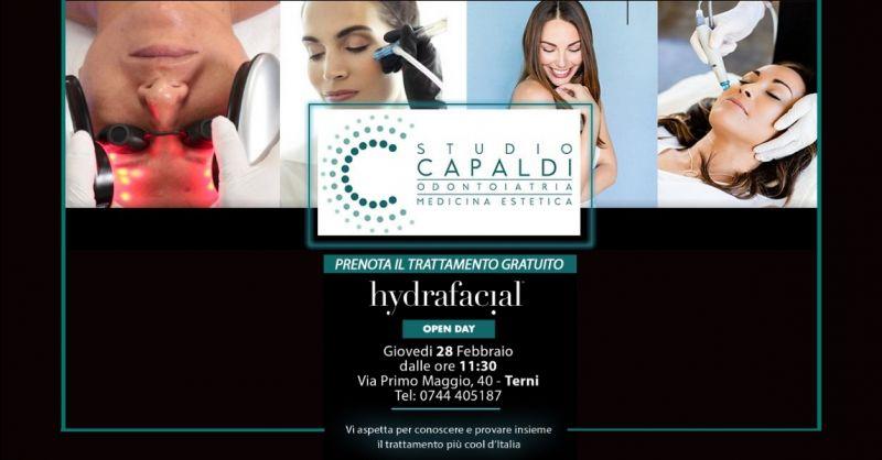STUDIO CAPALDI offerta trattamento Hydrafacial - occasione trattamento viso gratuito a Terni