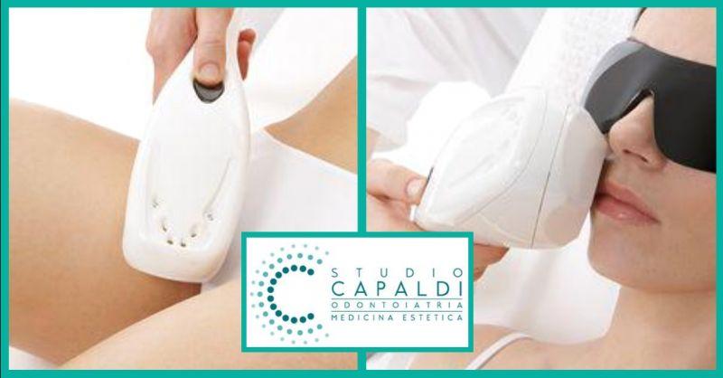 offerta epilazione laser definitiva Terni - occasione trattamento luce pulsata viso Terni