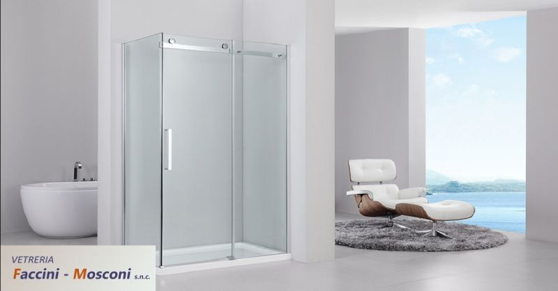 offerta sostituzione vetri a Verona - occasione realizzazione box doccia in vetro Verona