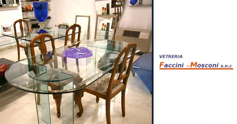 Offerta produzione articoli in vetro su misura - occasione sostituzione vetri a domicilio Verona