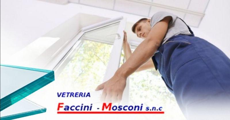 Offerta sostituzione vetri finestre a domicilio Verona provincia - Occasione riparazione porte in vetro Verona