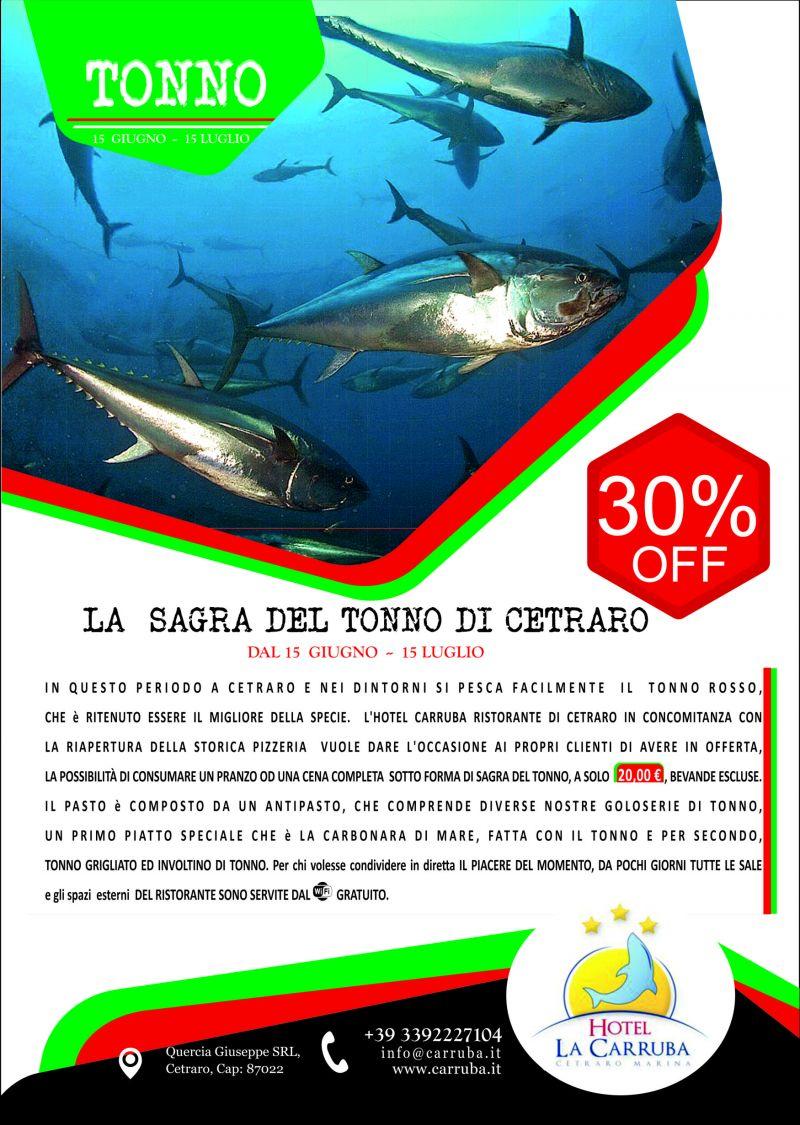 evento SAGRA del TONNO a CETRARO - occasione cena a base di pesce cetraro