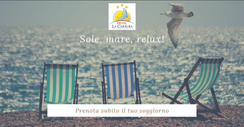 Hotel la carruba offerta hotel sul mare cetraro - promozione week end in calabria cetraro