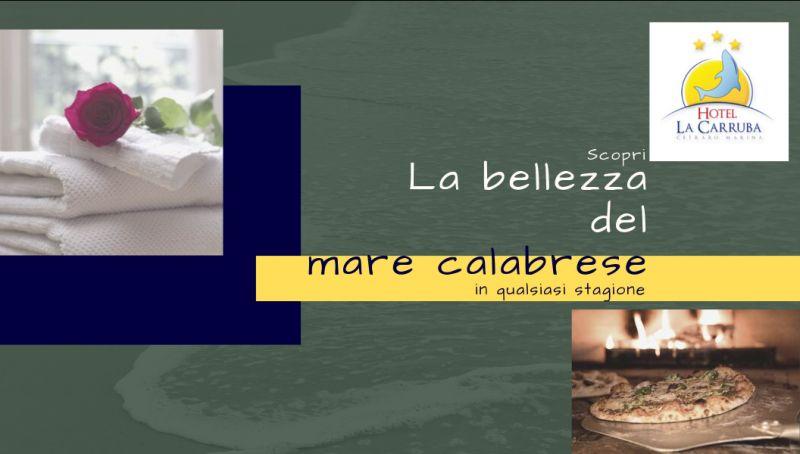 la carrubba offerta hotel sul mare cosenza - promozione pizzeria sul mare cetraro