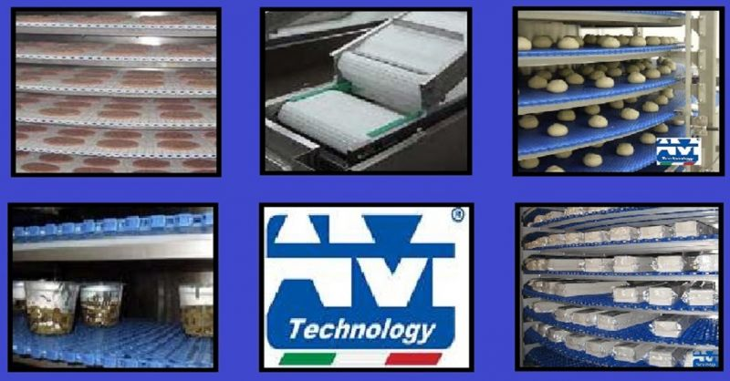 offerta Realizzazione nastri trasportatori tappeti modulari gomma poliuretano rete metallica