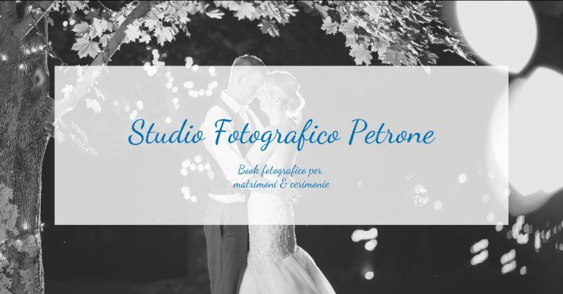Studio fotografico petrone offerta book per matrimonio cosenza - promozione foto per matrimonio