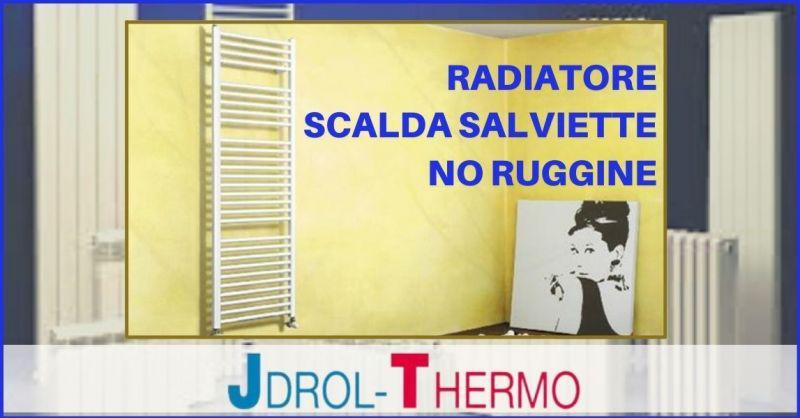 OFFERTA RADIATORE SCALDA SALVIETTE IN ALLUMINIO - PROMOZIONE RADIATORI ELETTRICI VERSILIA