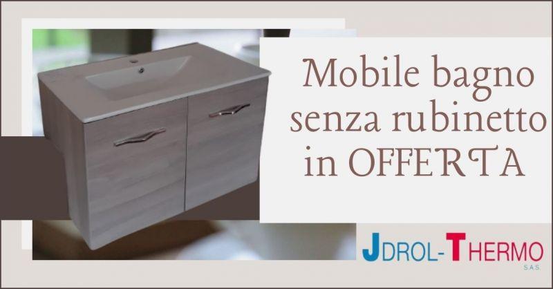 promozione mobili arredo bagno Versilia - offerta mobile in rovere bagno Lucca