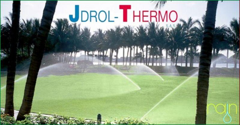 promozione sistemi di irrigazione professionale e per privati Lucca - JDROL THERMO