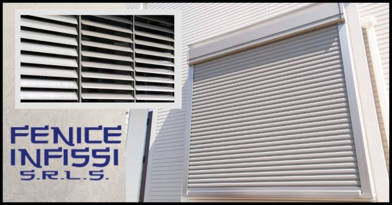 promozione persiane avvolgibili per porte e finestre Versilia - FENICE INFISSI